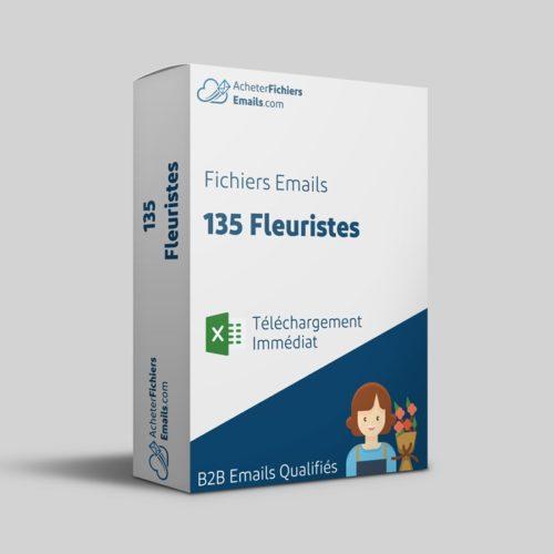 Acheter fichiers emails fleuristes