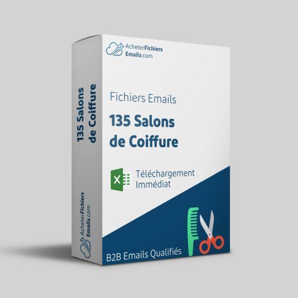 Acheter fichiers emails salons de coiffure